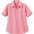 半袖超長綿ポロシャツ ピンク